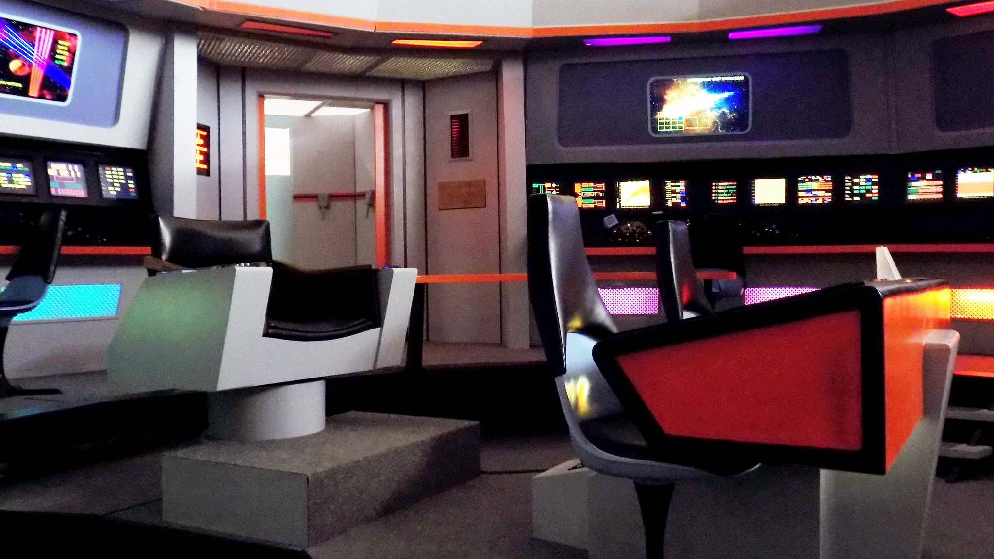 Star Trek Original Series Set Tours