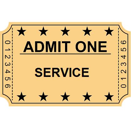 Service (EMT, Nurse, Police, Fire, Military) Admission Gift ...