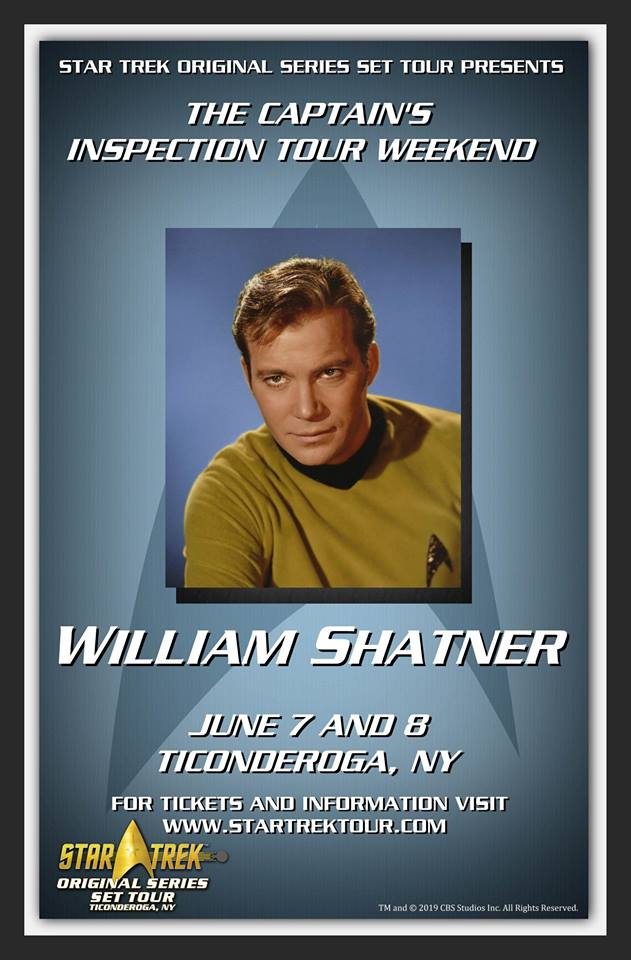 William Shatner Weekend at Star Trek Tours
